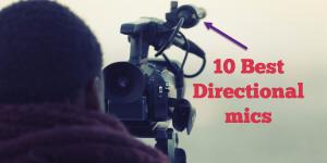 Directional microphones