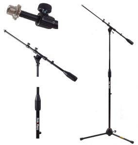 Hola! Music HPS-101TB Professional Tripod Microphone Mic Stand