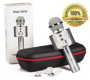 Mockins Bluetooth Karaoke Microphone