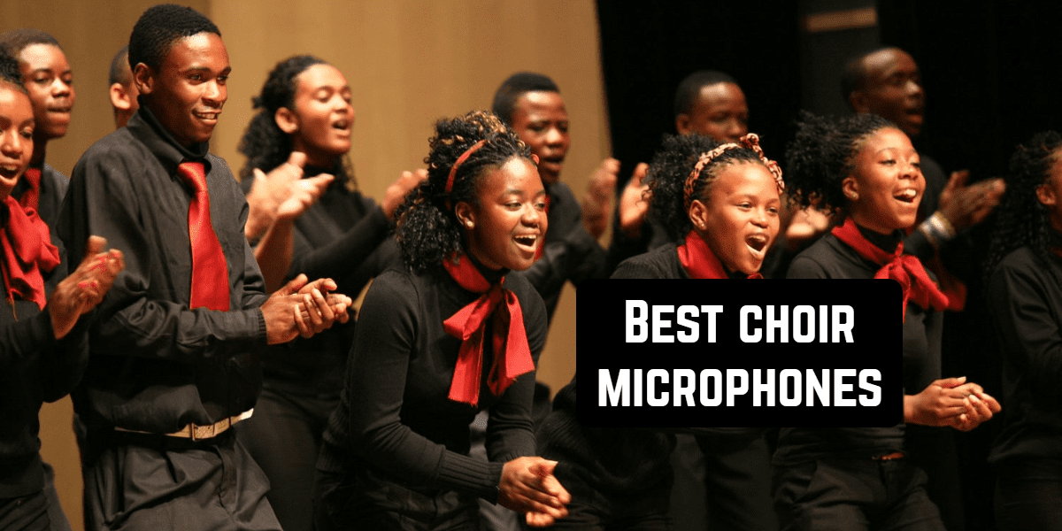 choir microphone front