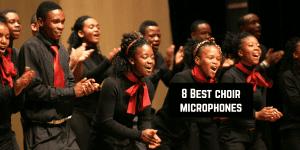 choir microphones front
