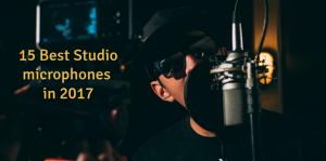 studio microphones 2017