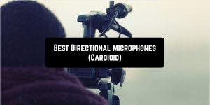Best Directional microphones (Cardioid)