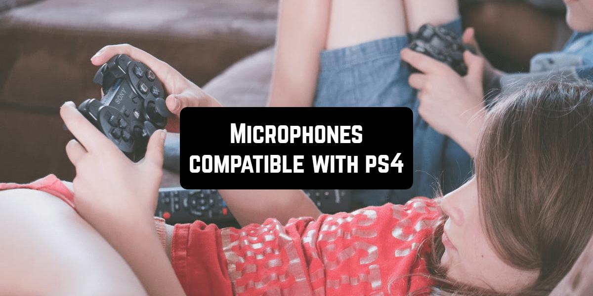 ps4 microphones front