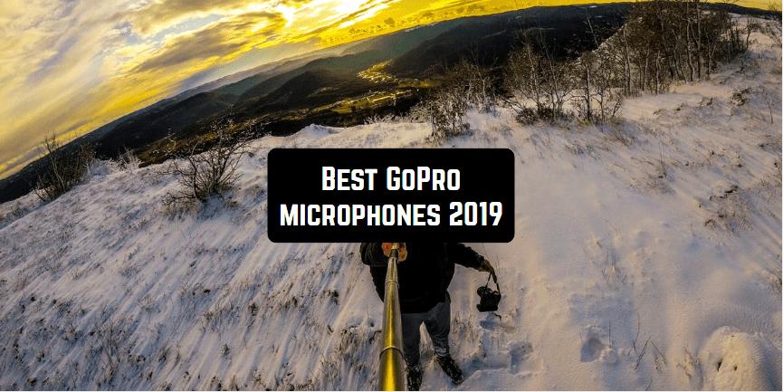 best gopro microphones 2019