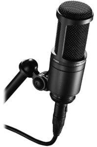 Audio-Technica AT2020 Cardioid Condenser Studio XLR Microphone