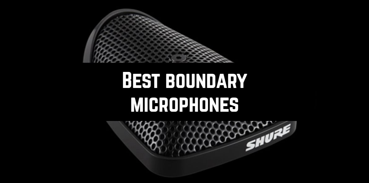 Best boundary microphones