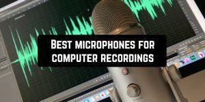 Best microphones for computer recordings