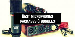 Best microphones packages & bundles