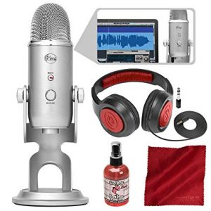 Blue Microphones Yeti Studio Recording & Podcasting Kit