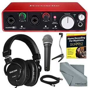 FOCUSRITE Scarlett Studio 2nd Gen Recording Kit