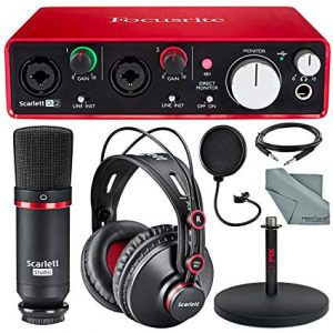 Focusrite Scarlett Solo Studio Kit Bundle