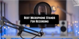 15 Best Microphone Stands For Recording