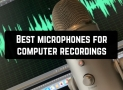 6 Best microphones for computer recordings