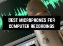 6 Best microphones for computer recordings