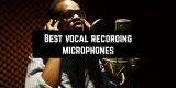11 Best vocal recording microphones 2020