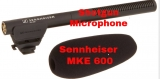 Sennheiser MKE 600 Shotgun microphone review