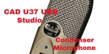 CAD U37 USB Studio Condenser Microphone Full Review