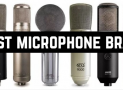 Best microphone brands