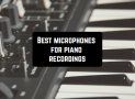 7 Best microphones for piano recordings (updated 2020)