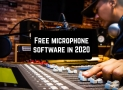 Free microphone software in 2020