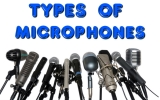 Types of microphones