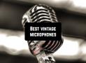 9 Best vintage microphones